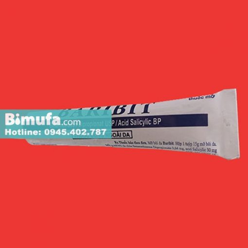 Tuýp thuốc Baribit