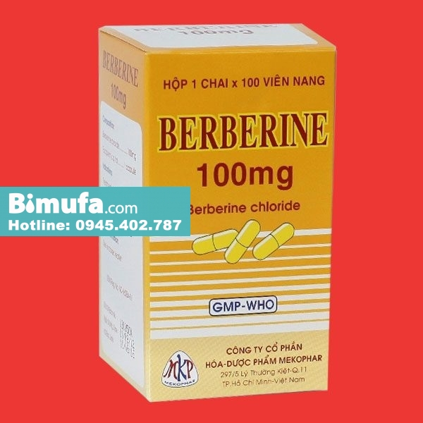 Berberin 100mg