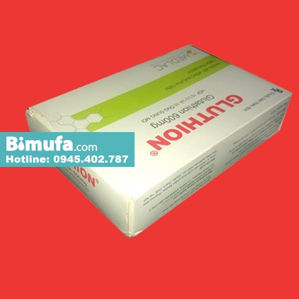 Hộp thuốc Gluthion 600mg