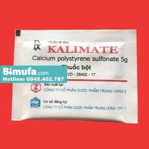 Gói thuốc Kalimate