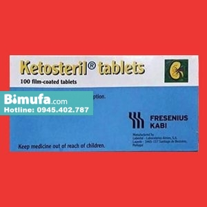 Hộp thuốc Ketosteril tablets