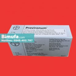 Hộp thuốc Provironum