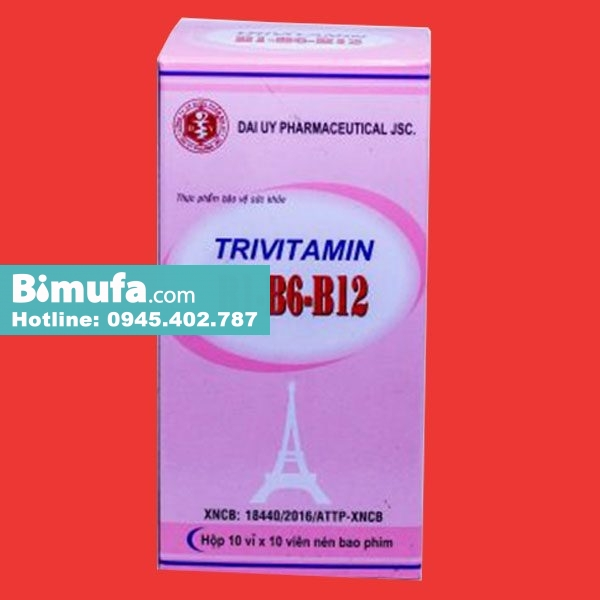 Hộp thuốc Trivitamin