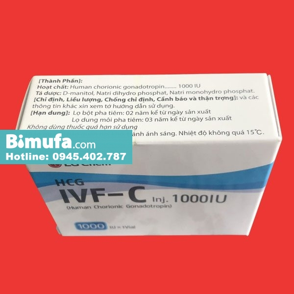 Thuốc tiêm IVF C 1000