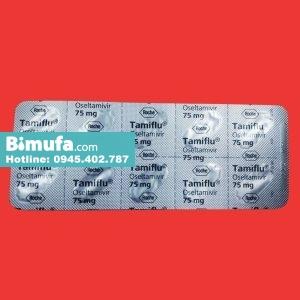 Vỉ Tamiflu 75mg