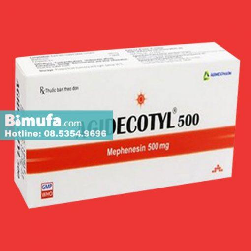 Agidecotyl 500mg