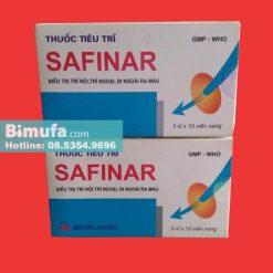 Thuốc tiêu trĩ Safinar