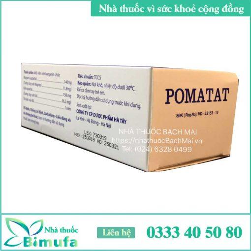 Thành phần Pomatat