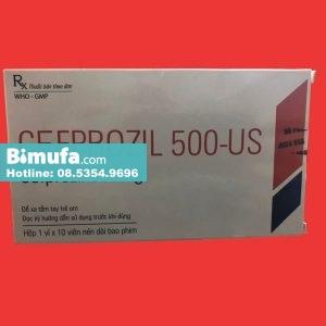 Thuốc Cefprozil 500-US