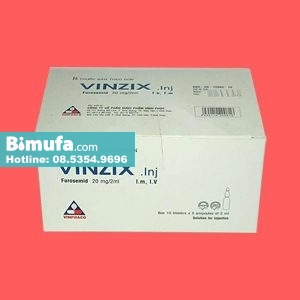 Thuốc Vinzix 20mg