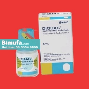 Thuốc nhỏ mắt Diquas