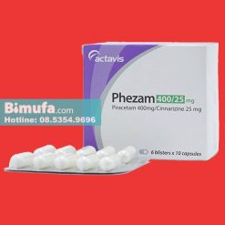 Thuốc Phezam 400/25mg