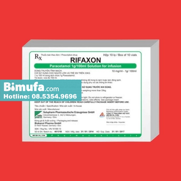 Thuốc Rifaxon