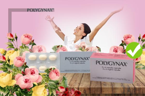 Polygynax loại trừ viêm nhiễm phụ khoa