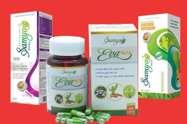 Những dạng sản phẩm chính của Samya