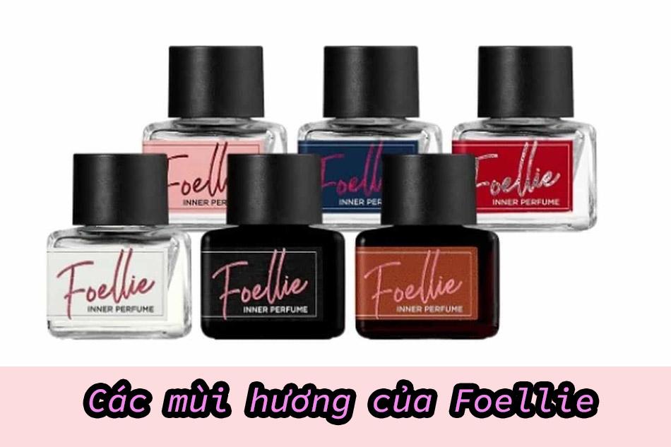 Các mùi hương của Foellie