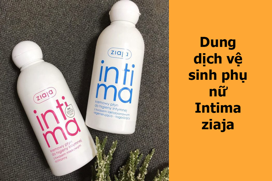 Dung dịch vệ sinh phụ nữ Intima ziaja
