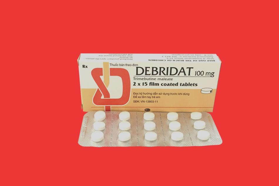 Tác dụng phụ Debridat