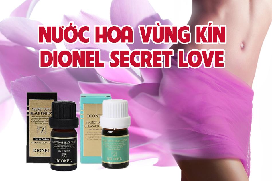 Thương hiệu nước hoa vùng kín Dionel Hàn Quốc