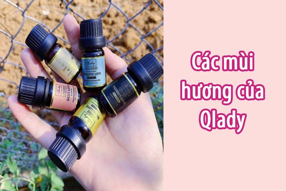 Các mùi hương của Qlady