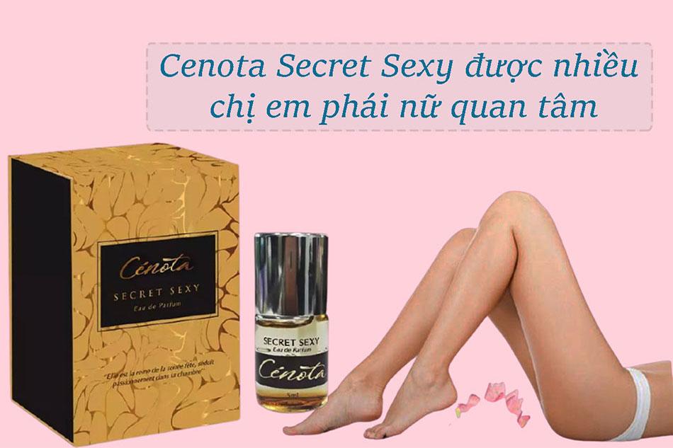 Đối tượng sử dụng Cenota Secret Sexy