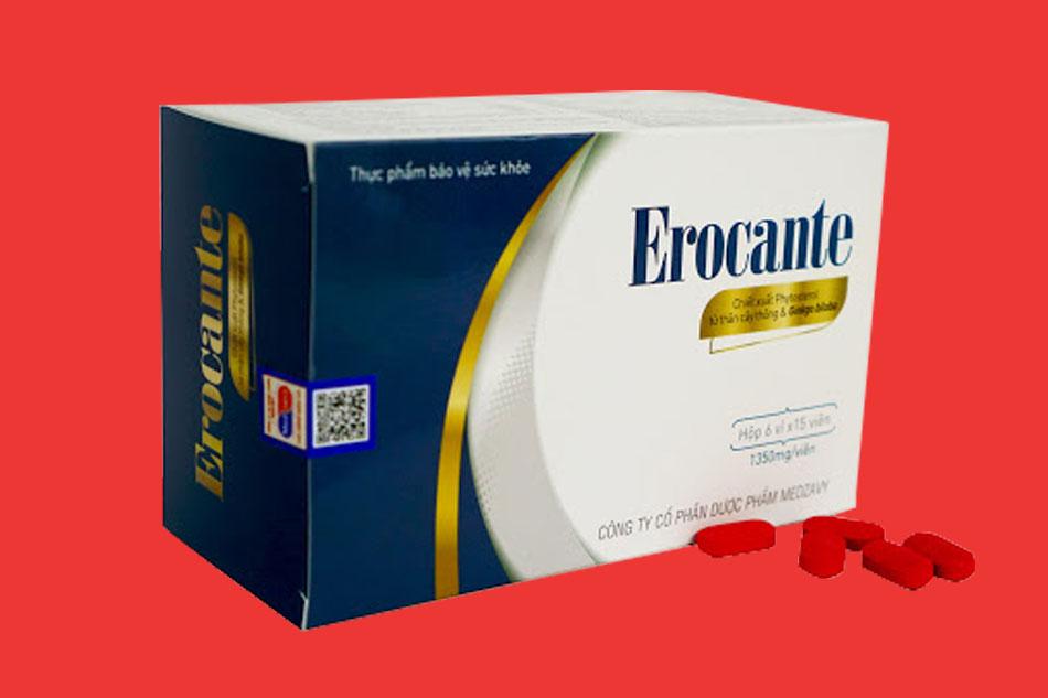 Viên uống mọc tóc Erocante giá bao nhiêu?