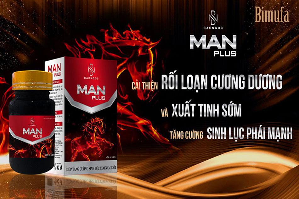 Manplus là một sản phẩm hỗ trợ sinh lý nam giới