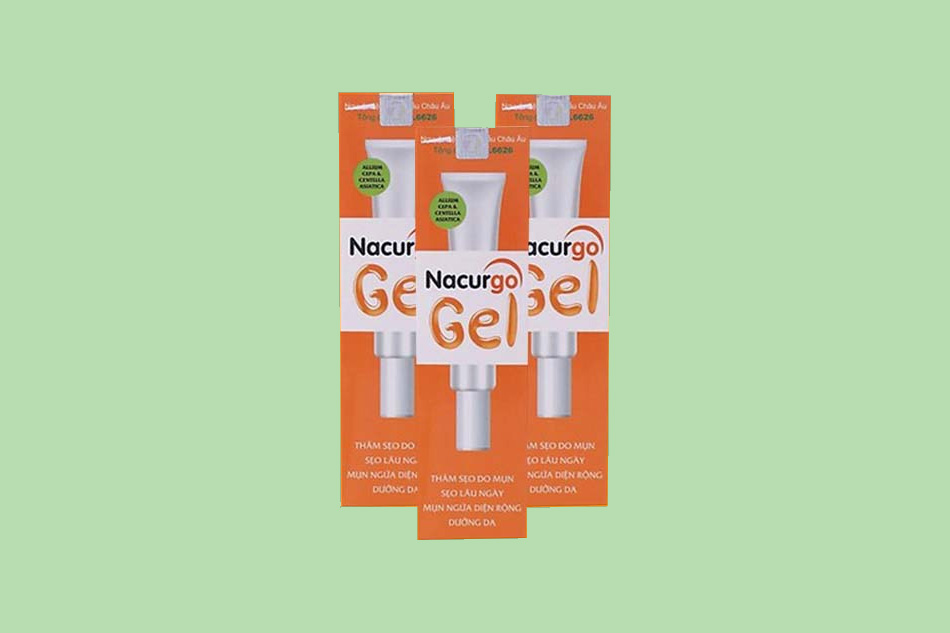 Giá bán của Nacurgo gel