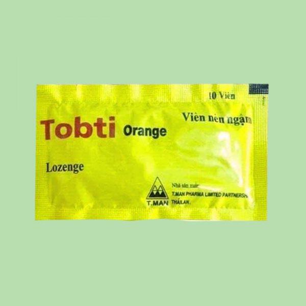 Tobti orange gói 10 viên