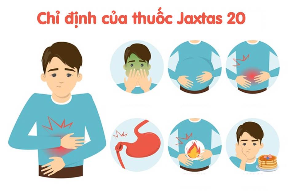 Chỉ định của thuốc Jaxtas 20