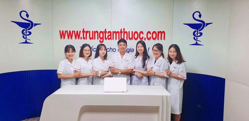 Đội ngũ dược sĩ nhà thuốc tư vấn tận tình