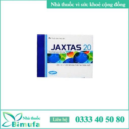 Hộp thuốc Jaxtas 20