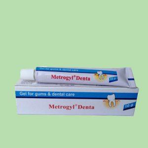Gel bôi răng miệng Metrogyl Denta 10g