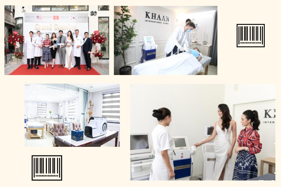 Các dịch vụ làm đẹp của thẩm mỹ quốc tế Khaan đã nhận được nhiều lời nhận xét tích cực của khách hàng.