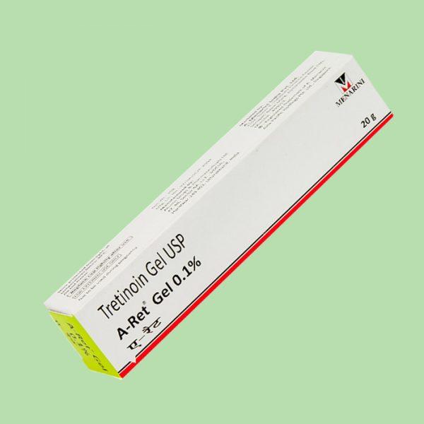 Tretinoin Gel USP Aret 0,1%
