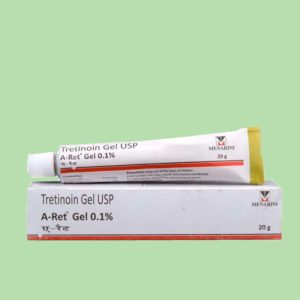 Tretinoin Gel USP Aret 0.1%