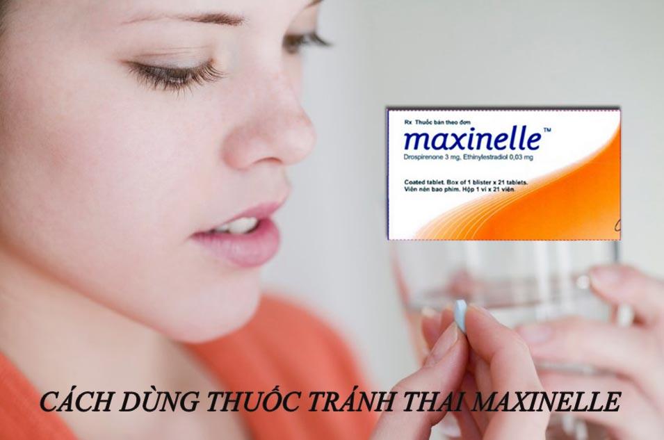 Cách dùng - liều dùng thuốc tránh thai Maxinelle