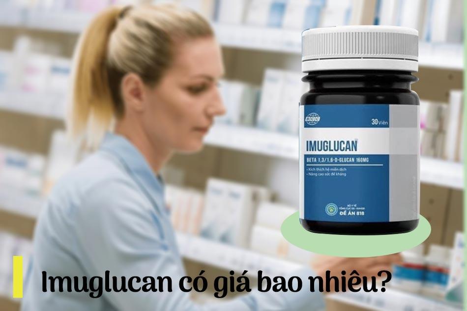Imuglucan có giá bao nhiêu?