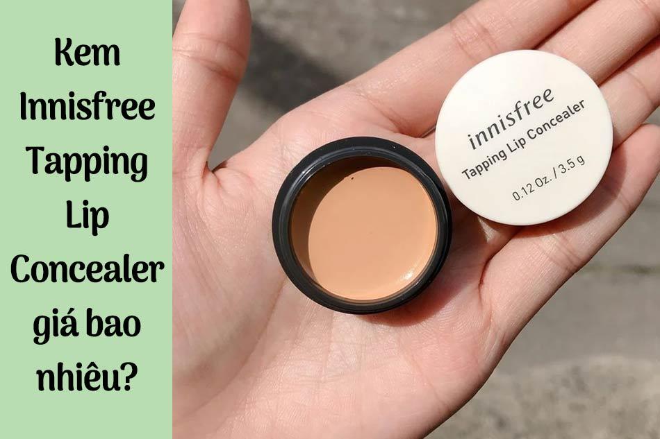 Kem Innisfree Tapping Lip Concealer giá bao nhiêu?