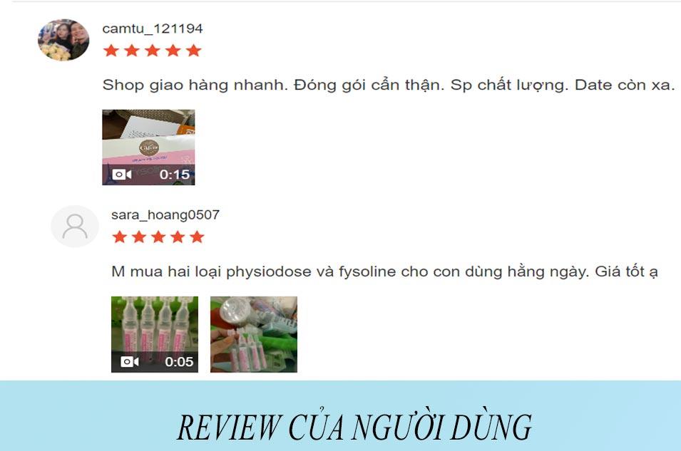 Review của người dùng