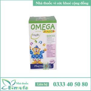 Siro Omega Junor cho trẻ em
