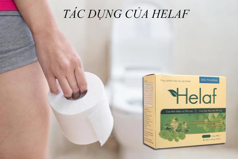 Tác dụng của Helaf