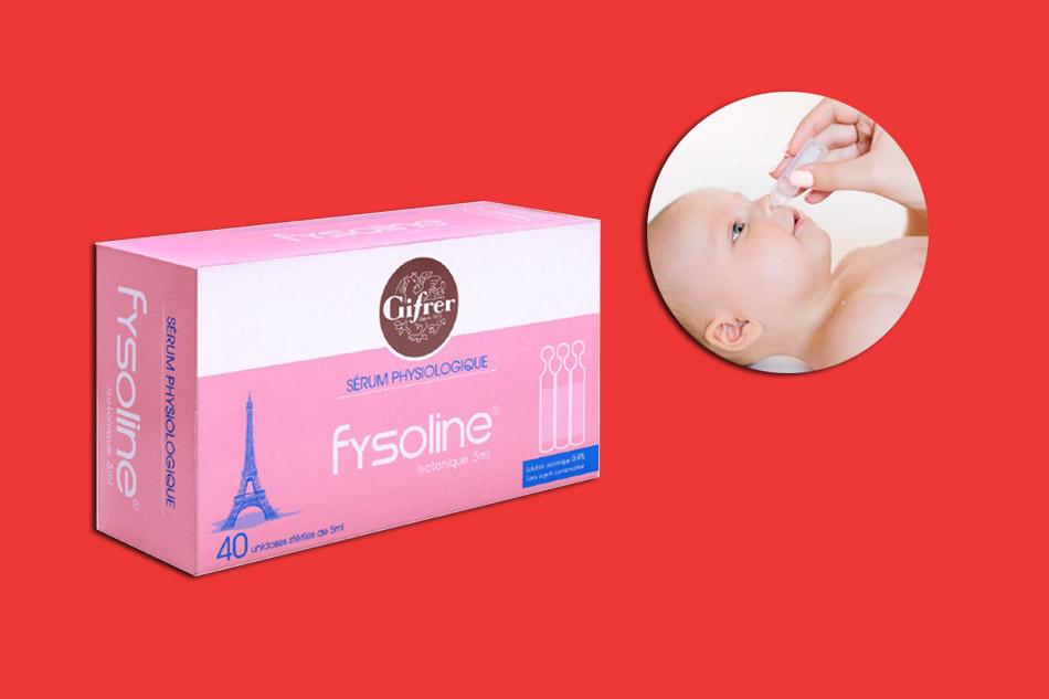 Tác dụng của nước muối sinh lý Fysoline