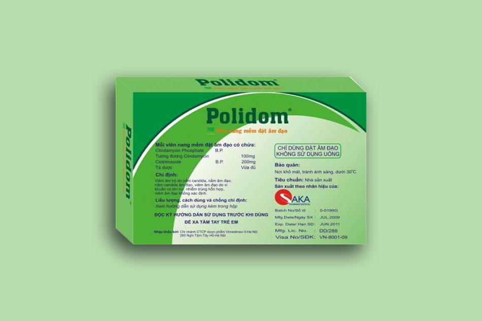 Tác dụng của thuốc Polidom
