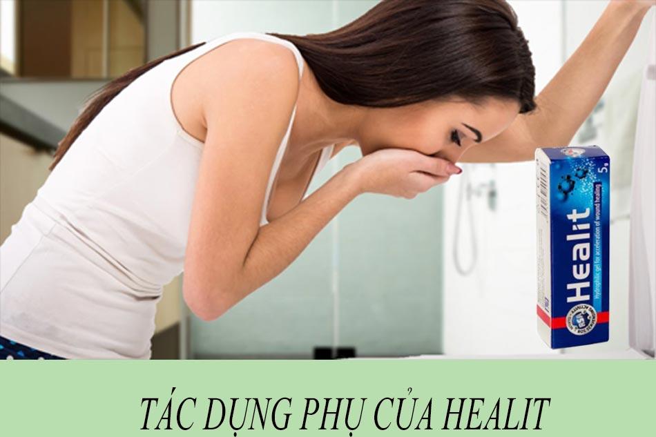 Tác dụng phụ của Healit skin ointment