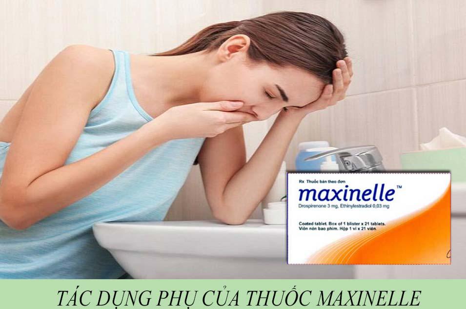 Tác dụng phụ của thuốc Maxinelle