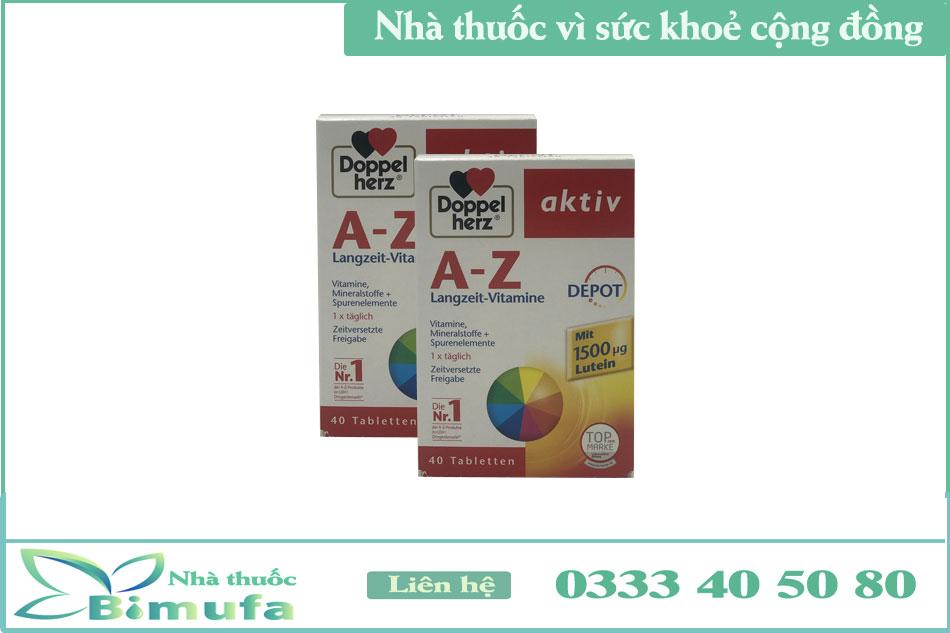 Thành phần của Aktiv AZ Multivitamin