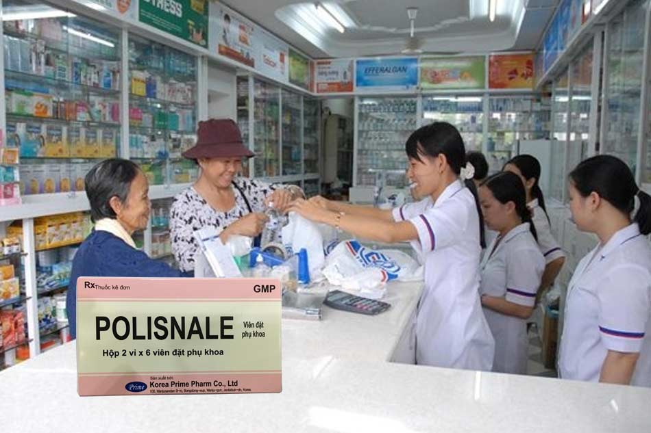 Thuốc đặt âm đạo Polisnale giá bao nhiêu?