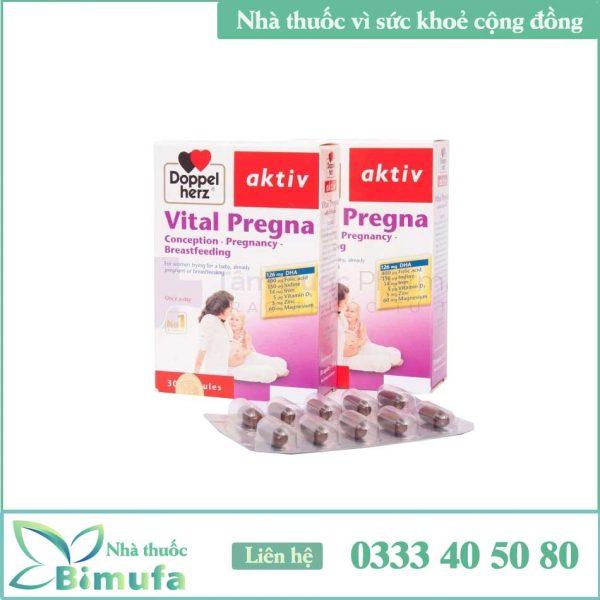 Viên uống Vital Pregna