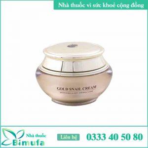 Golden nail cream